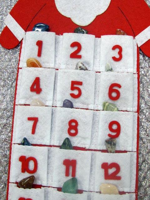 gemstone advent calendar