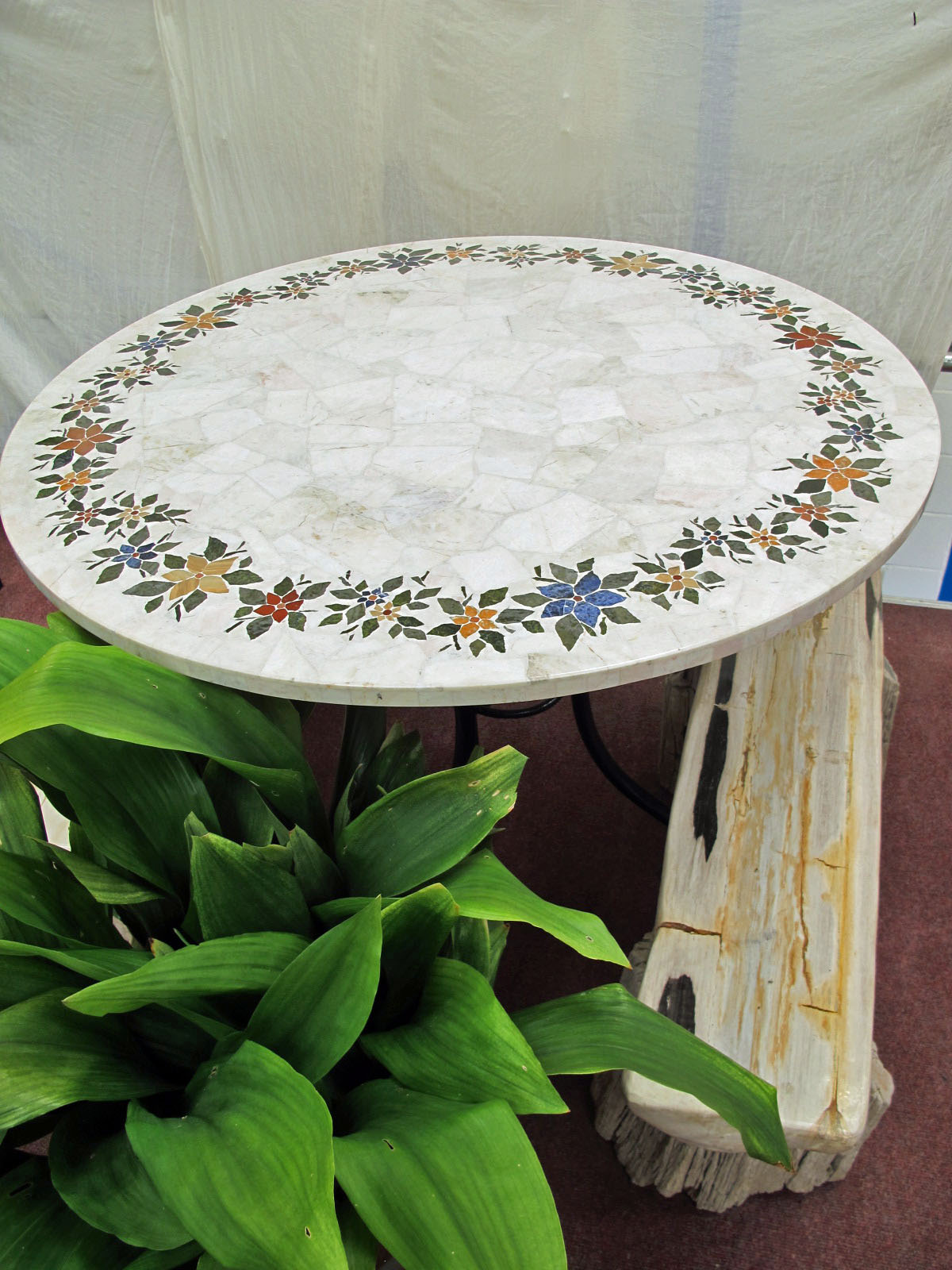 Marble table top - Marble Inlaid Table Top