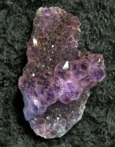 Amethyst Crystal Designer Flip Flops