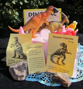 Fossil Party Bags Dinosaur Party Food