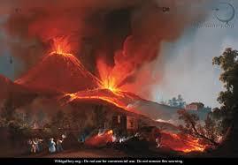 when did geology begin - Vesuvius?