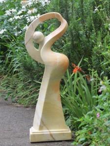 Fossils: The Dancer Sculpture