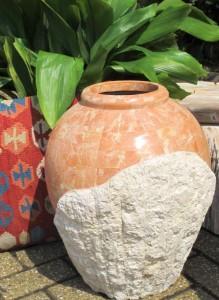 coral urn