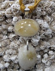 Citrine Double Drop Pendant