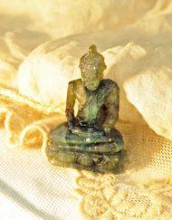miniature labradorite buddha