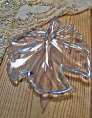 carved quartz leaf