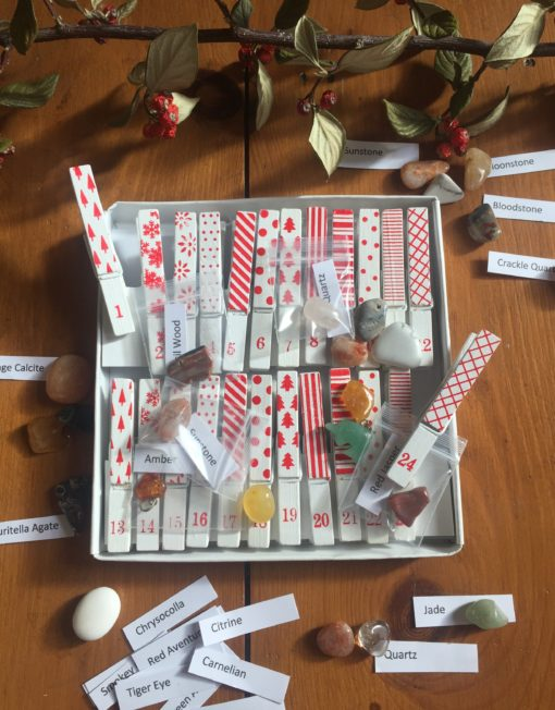 Advent Calendar with Pegs