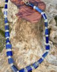 Lapis Lazuli, Herkimer Diamond, Necklace
