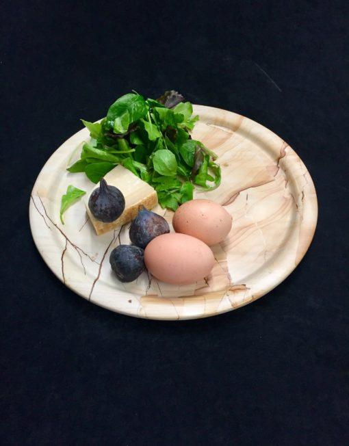 Serving Plate, Landscape Marble