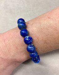 Lapis Lazuli Bead Bracelet