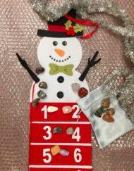 Gemstone Advent Calendar Snowman