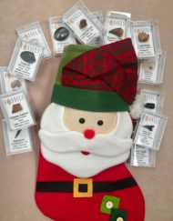 Fossil Christmas Stocking