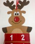 Advent Calendar Reindeer Plastic free