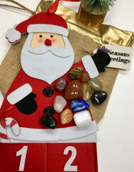 Gemstone advent Calendar Santa
