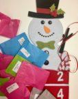 Gemstone Advent Calendar Snowman Plastic free