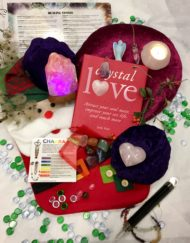 Crystal Lovers Christmas Stocking