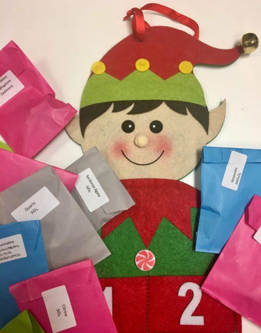 Gemstone Advent Calendar Elf Plastic free