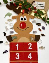Gemstone Animals Advent Calendar