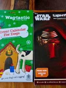 og Biscuit and Star Wars Advent Calendars